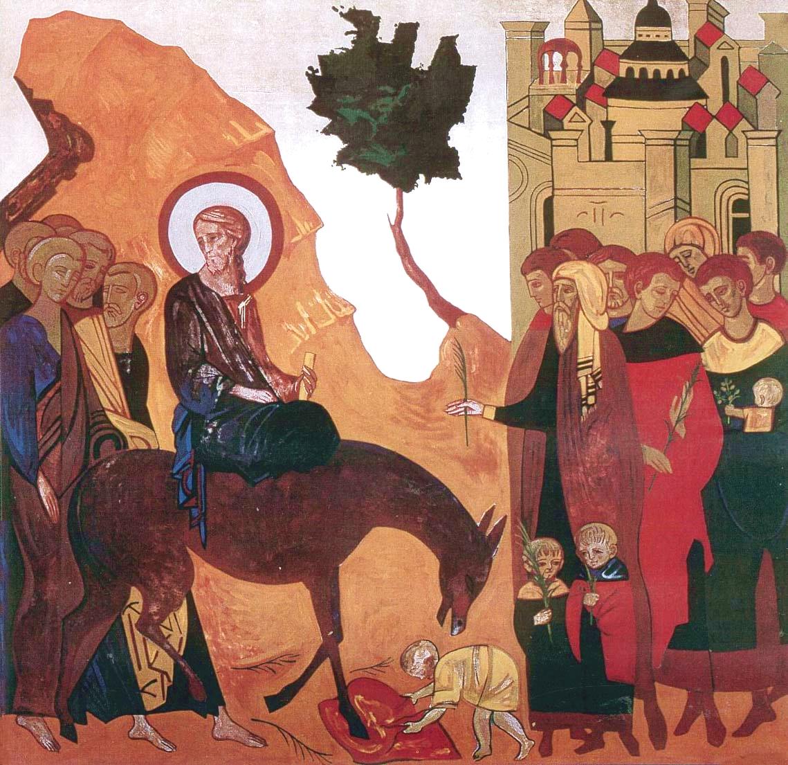 Entrada en Jerusalen