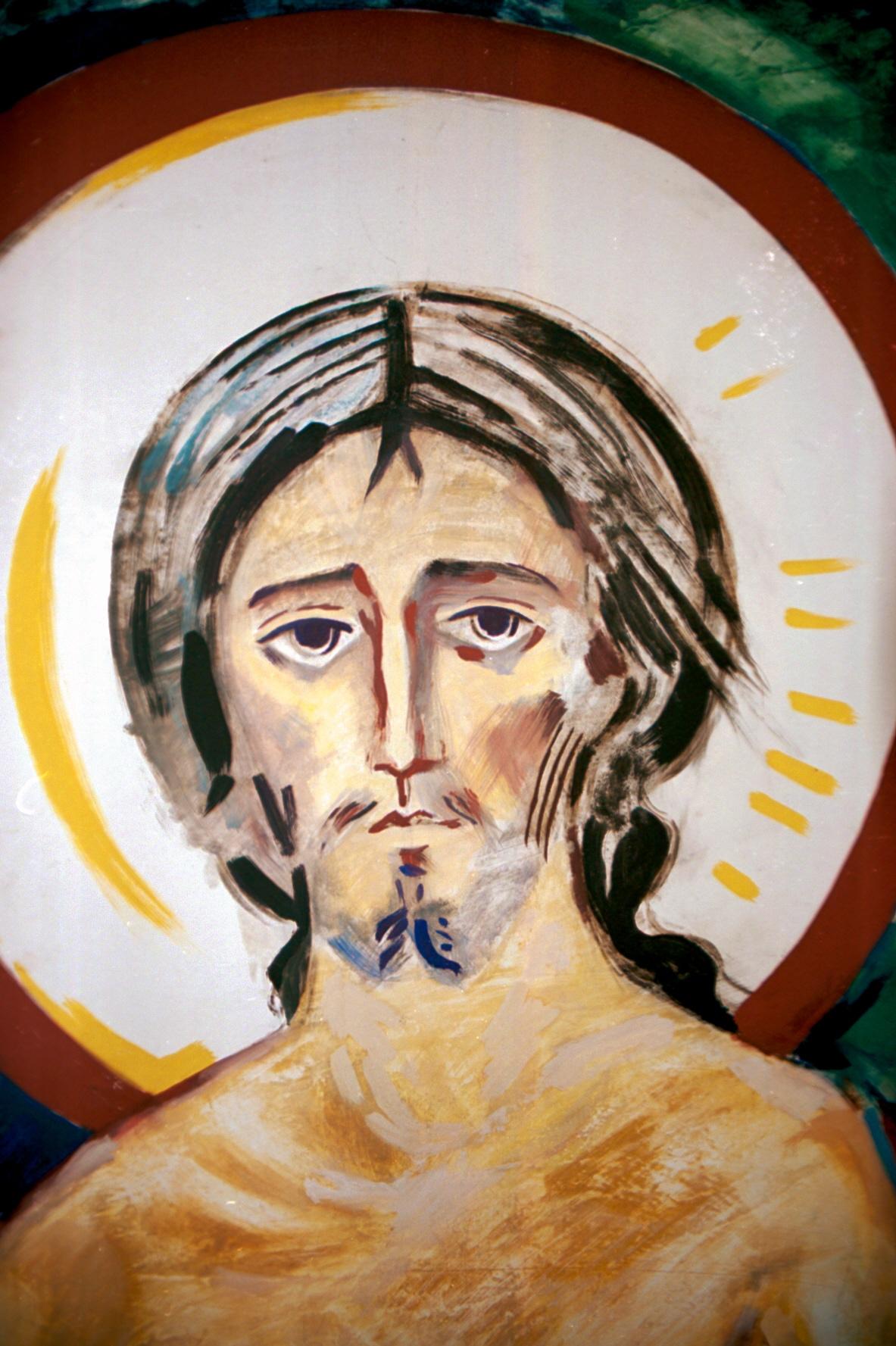 Detalle cristo resucitado